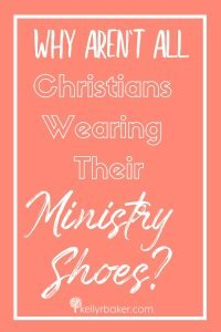 We all have a different function in the Body of Christ, but 20% of the people do 80% of the ministry work in the Church. Here's why we all can help. #ThrivingInChrist #ministryshoes #ministry #calling #biblicaltruths #spiritualgrowth #serving #church #bodyofchrist #giftings #spiritualgifts