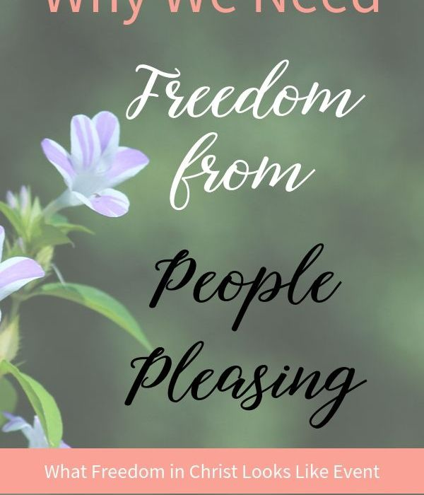 Why We Need Freedom from People Pleasing