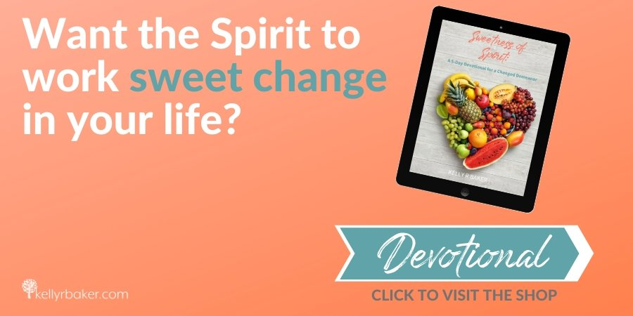 Want the Spirit to work sweet change in your life?