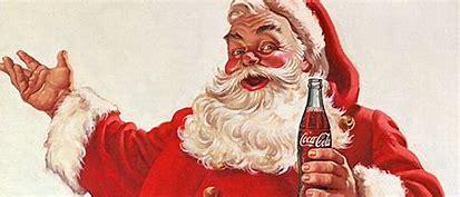 Image result for santa coca cola