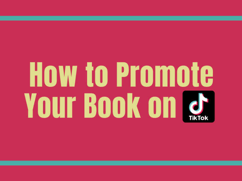 Promote a book on TikTok