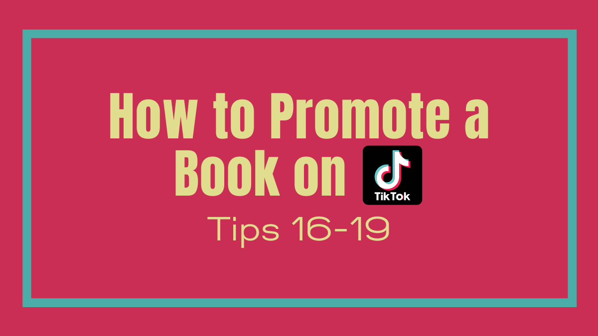 How to promote a book on TikTok