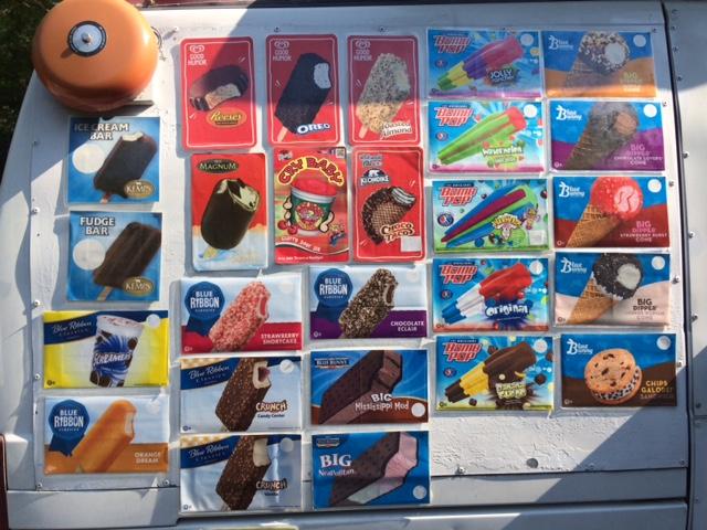 More treats from Kelly's Ice Cream Truck