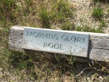 4th stop was Morning Glory Pool. Morning Glory is another hot spring.