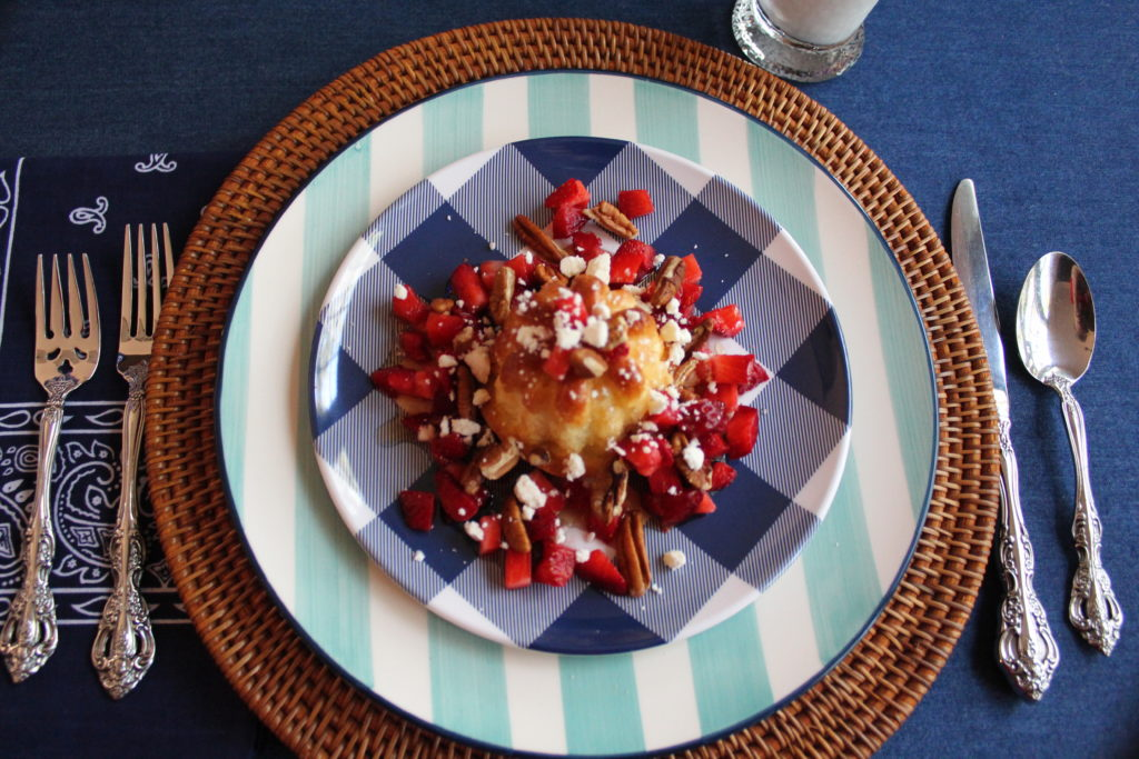 Strawberry Shortcake Breakfast Style
