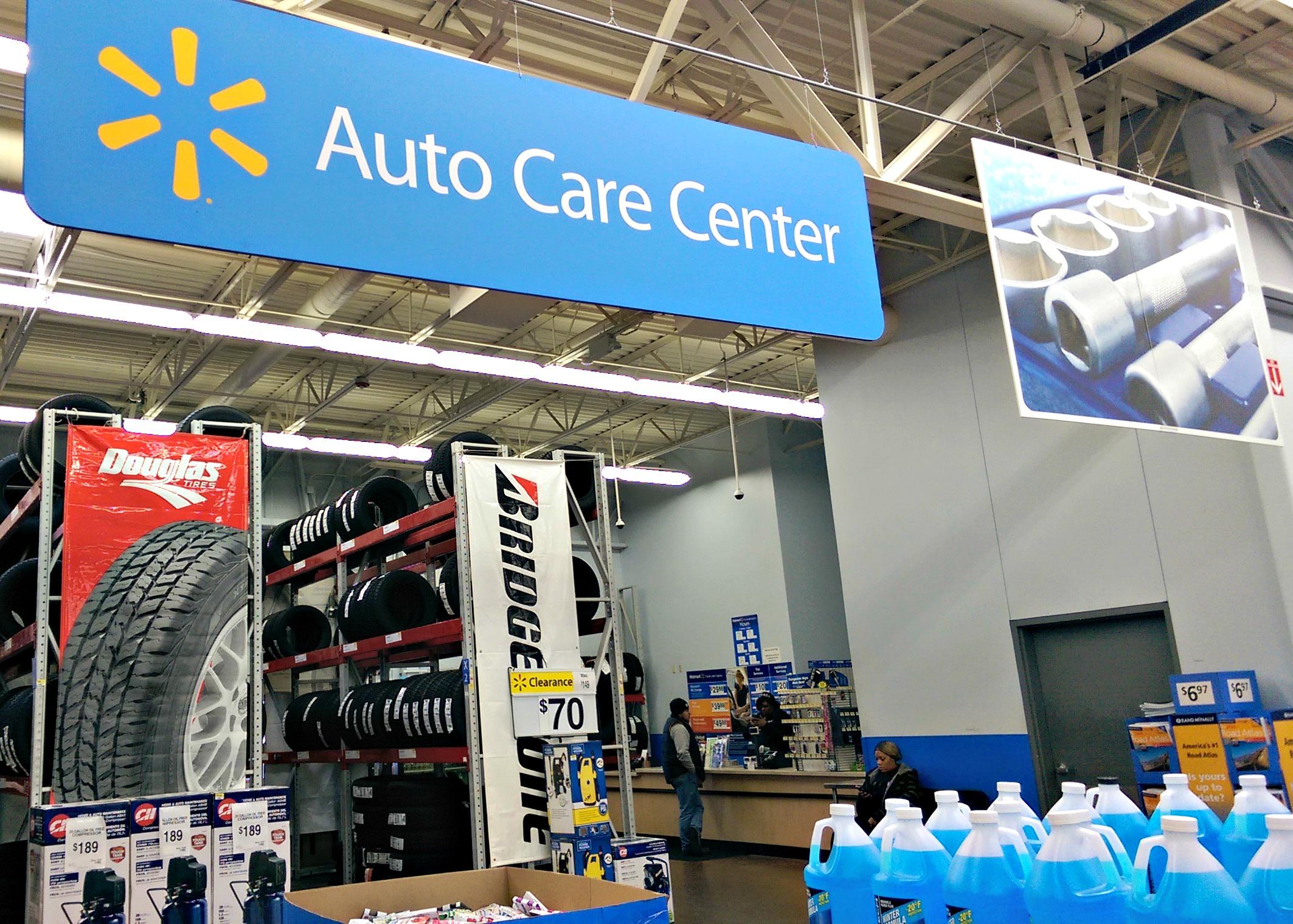 Walmart Car Shop Tire