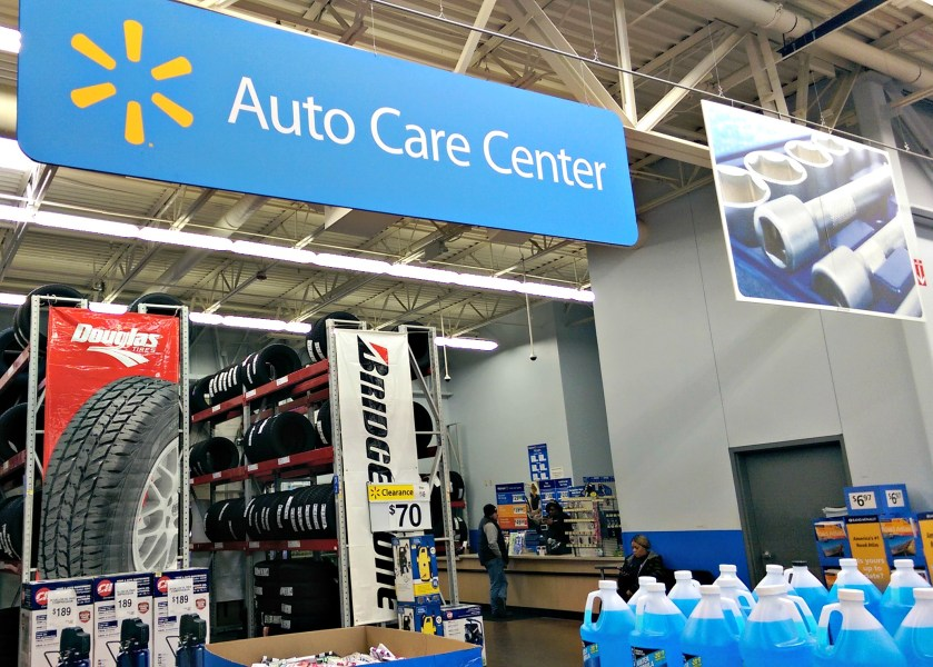 Tip To Save Time And Money  Multi Task With  DropShopAndOil  ad     Walmart Auto Care Center Inside Store  DropShopandOil