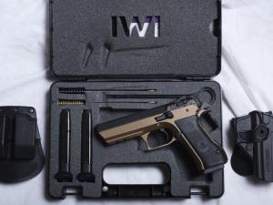Burnt Bronze Jericho 941 - Range Kit - 9mm