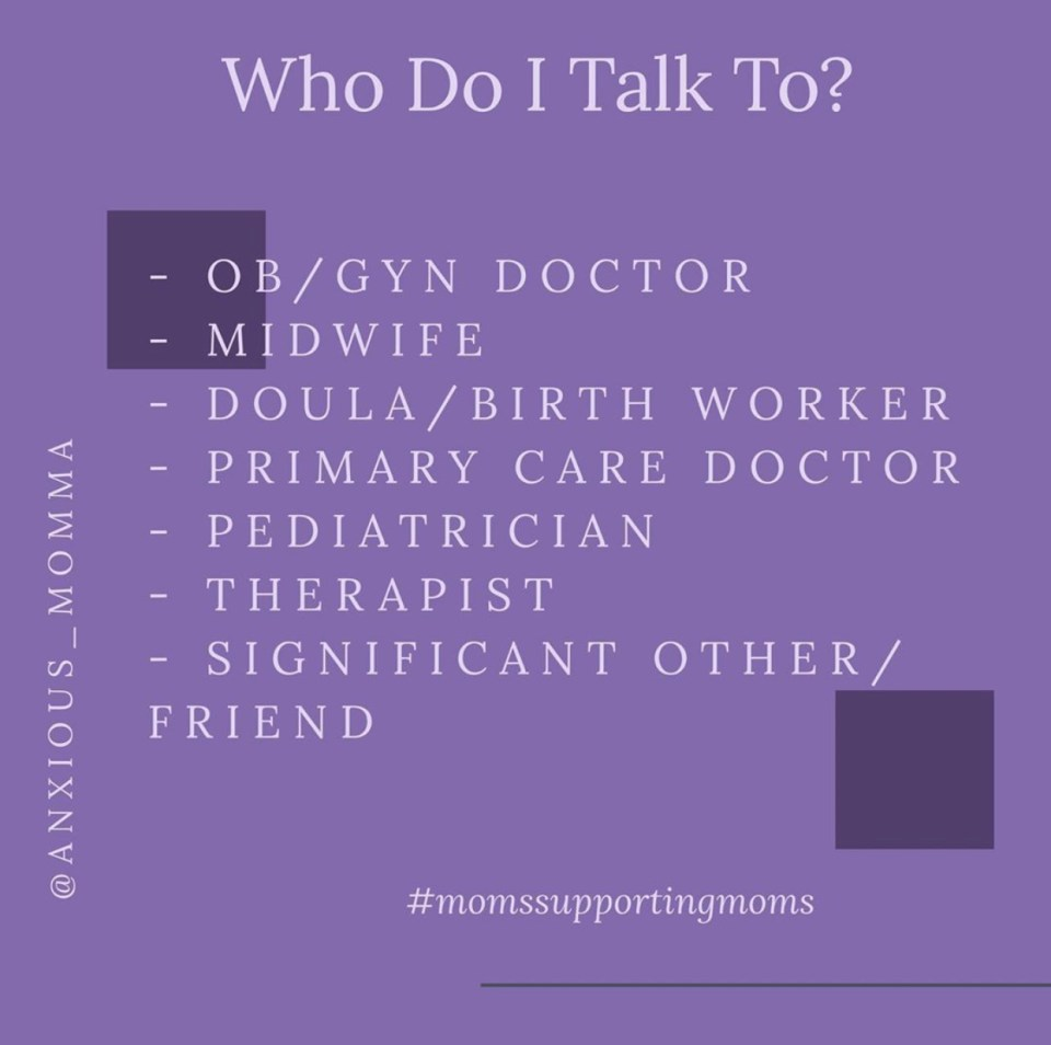 who to talk to regarding PMH