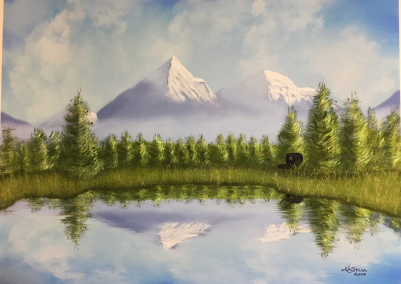 Digitally Painted/ Enhanced