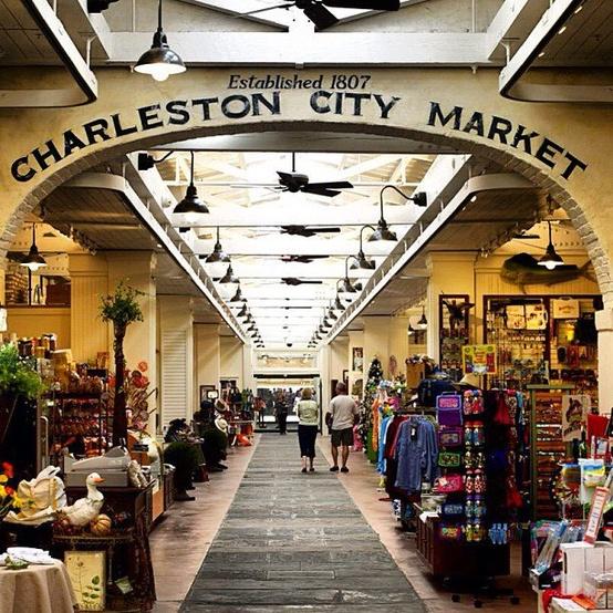 Historic Downtown Charleston Sc: Charleston City Market