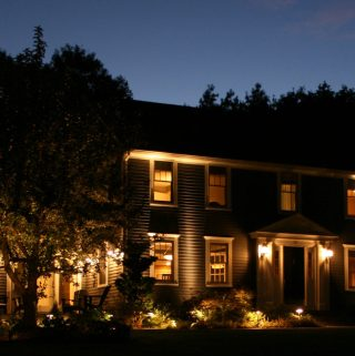 Outdoor Landscape Lighting Added Security For The Home