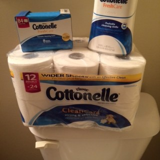 Feeling Clean With Cottonelle