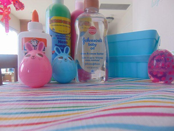 Baby Oil Fluffy Slime