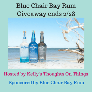 Blue Chair Bay Rum Giveaway ends 2/28