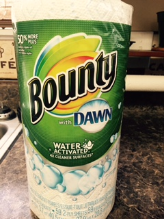 Cleanup The Toughest Mess with Bounty with Dawn #BountyatWalmart