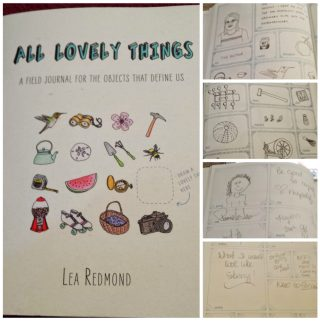 Write or Draw Your Thoughts in the All Lovely Things Field Journal #productreview