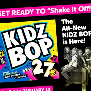 """Get Ready To """"Shake It Off"""" KidzBop 27 #review"""