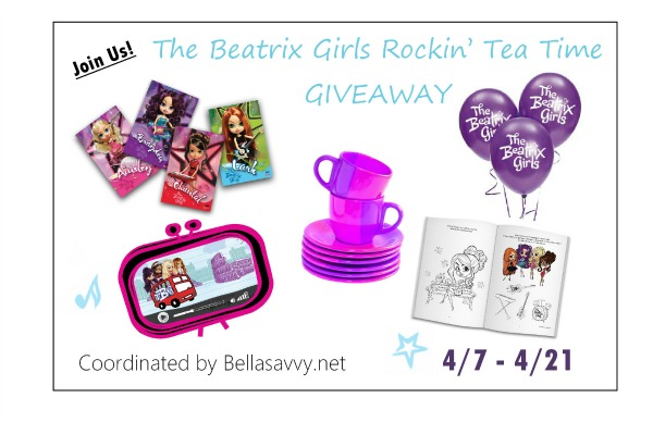 Beatrix Girls Rockin' Tea Party giveaway