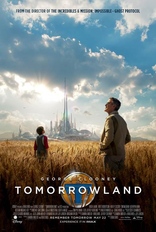 Disney and IMAX(r) To Offer Extended Sneak Peek Of Tomorrowland