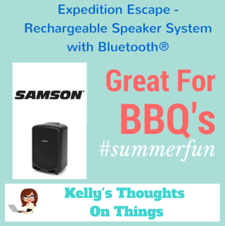Summer Fun With Expedition Escape: Portable Bluetooth Speaker