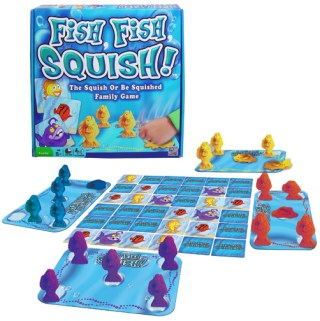 Fish Fish Squish- The Squished Or Be Squished #FamilyGame