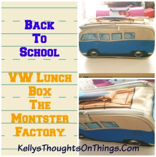 Back To School: Rock the Coolest Lunch Bag #monsterfactory #vw