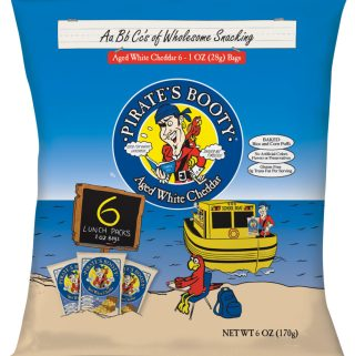 Kids Enjoy Pirate's Booty In Their Lunches!