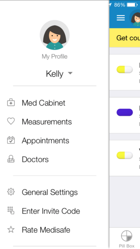Keep Track of Your Medication with MediSafe