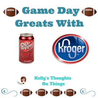 Thanks to Dr Pepper® and Kroger-We Are Ready For Game Day! #sponsored