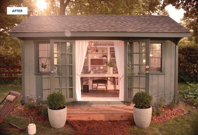 6 Technology Ideas for a She Shed From Best Buy