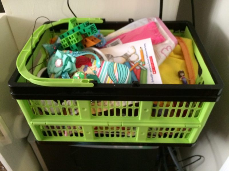Clevermade Shopping Basket