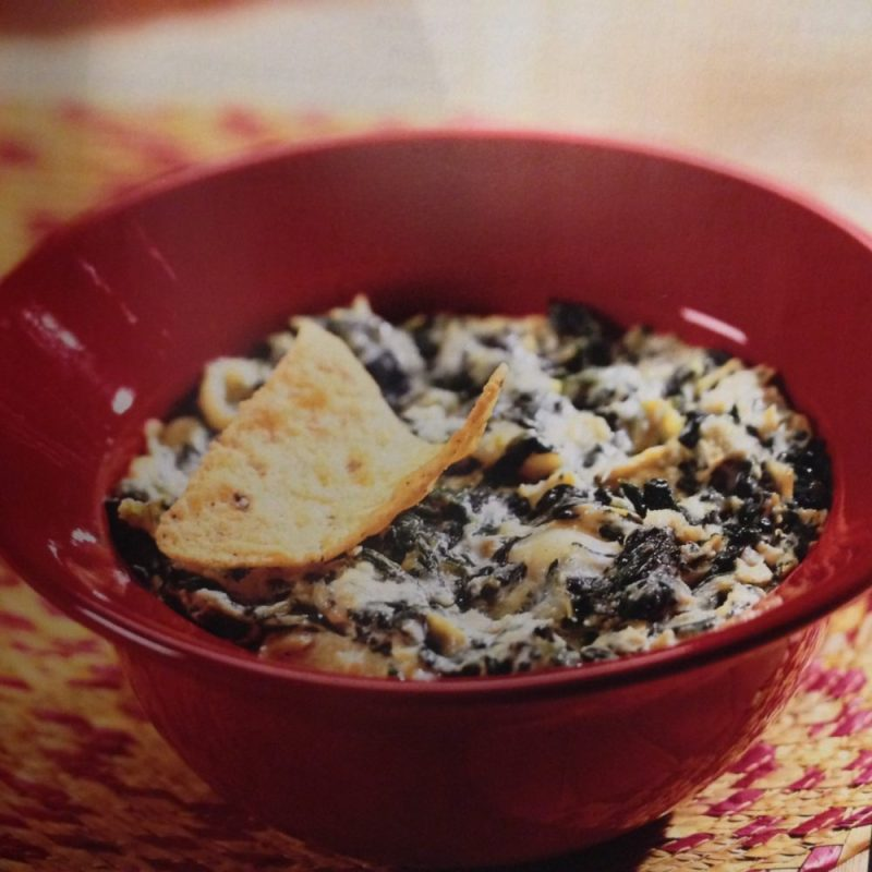 Sumptuous Spinach and Artichoke Dip