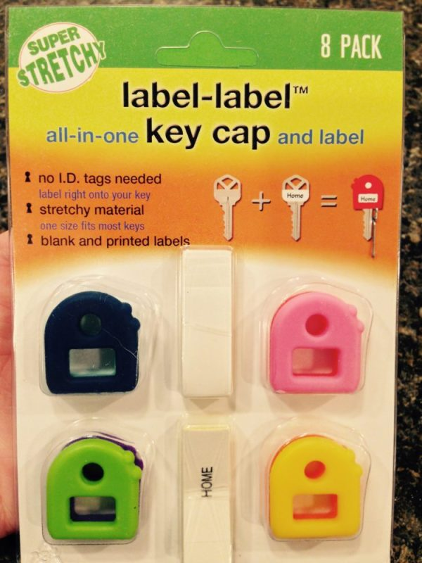 Organize Your Keys With Label-Label™ Key Caps
