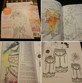 Give the Gift of Art ~ The Coloring Studio #ktotgiftguide