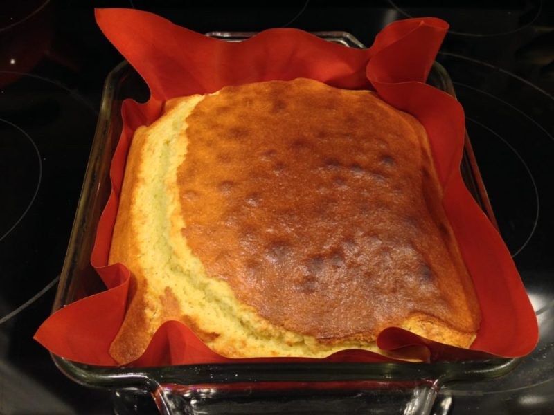 Finished corn bread.