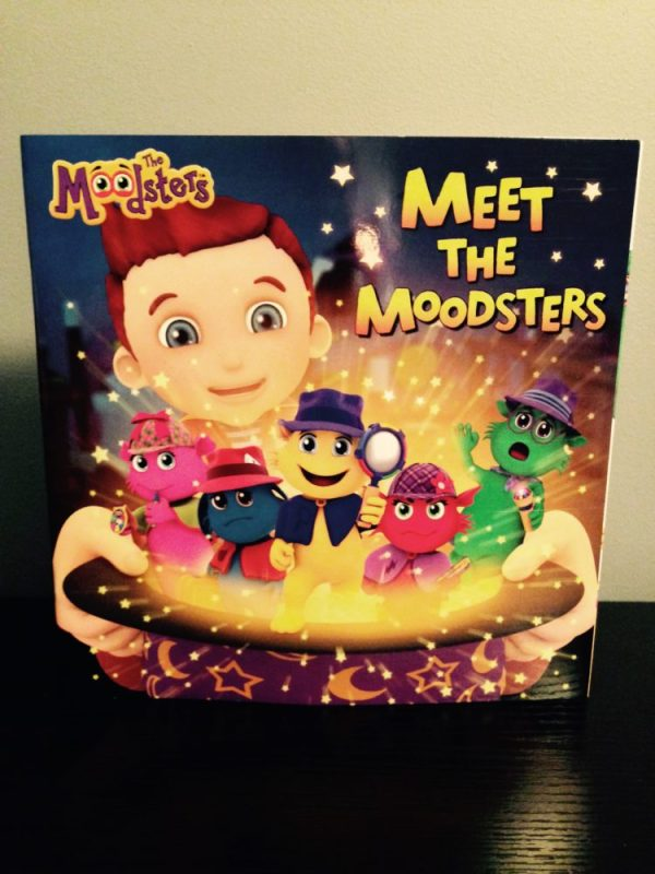 The Moodsters Toy and Storybook Set