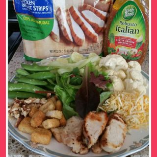 Mixing Up Our Regular Meals with Salad #Wish-Bone® #Tyson® #Walmart #sponsored #ad