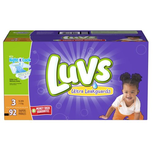 Luvs, in partnership with Ibotta, is offering a limited-time $5 rebate on any boxed variety of Luvs diapers, 54ct. box or larger.