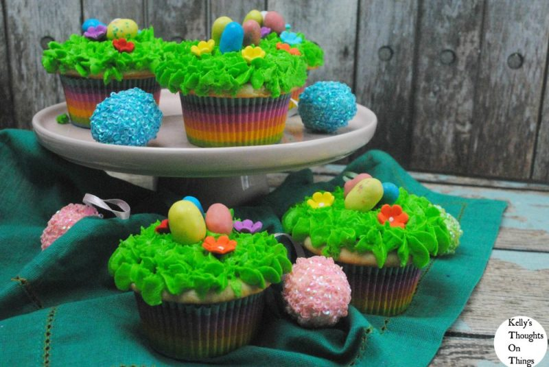 A Cupcake Recipe That Makes A Easter Egg Hunt Sweeter