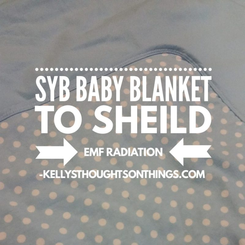 SYB Baby Blanket to Shield EMF Radiation