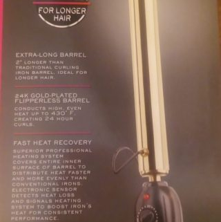 Have long hair? Pro Beauty XL iron is for you!