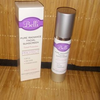 Protect your face with Belli Skincare