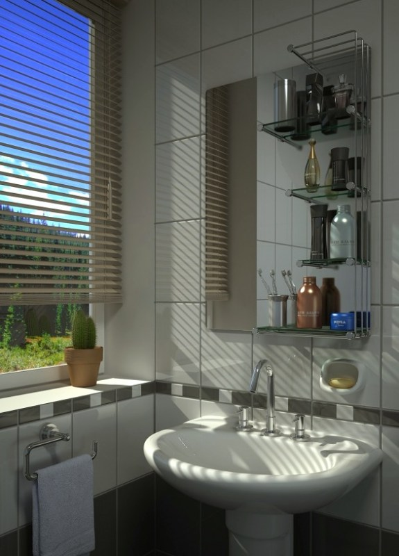 7 Ideas For Decorating Your Small Bathroom