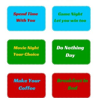 Free Father's Day Coupons- Printable