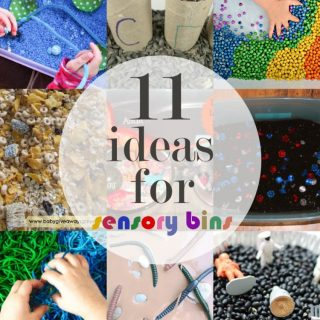 11 Ideas For Sensory Bins