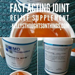 Regenerix NOW: Fast Acting Joint Supplement #Regenerix