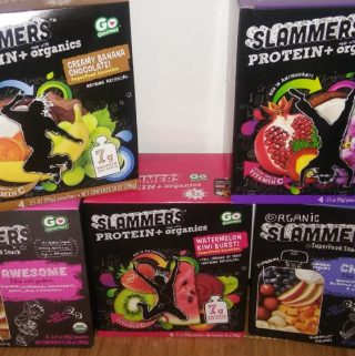 Slammers Super Food Snacks are perfect for Summer fun!