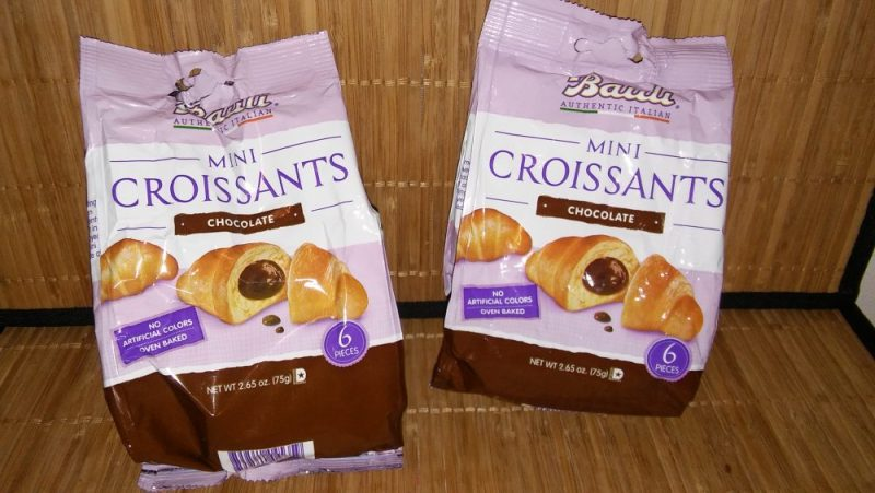 Bauli croissants Italian authentic