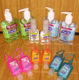 Keep the Germs away at School with Purell Sanitizers